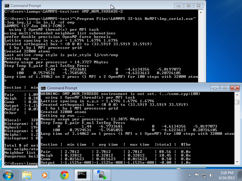LAMMPS Windows Installer Repository